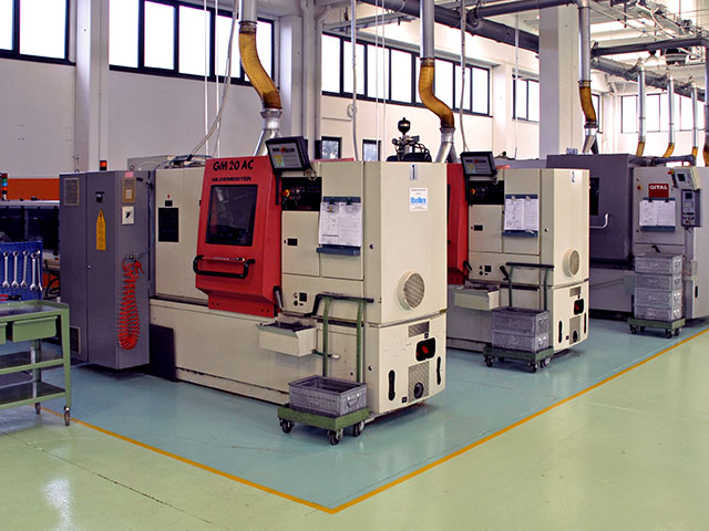 Multi spindle lathes